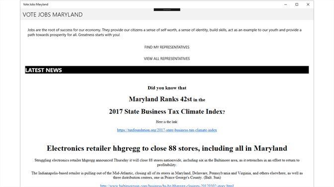 Get Vote Jobs Maryland - Microsoft Store