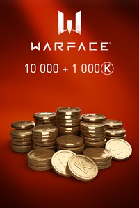 Carátula del juego Warface - 10 000 Kredits