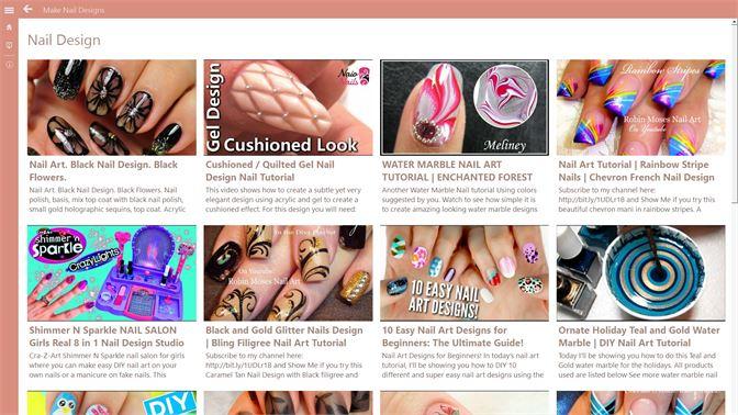 Get Make Nail Designs Microsoft Store