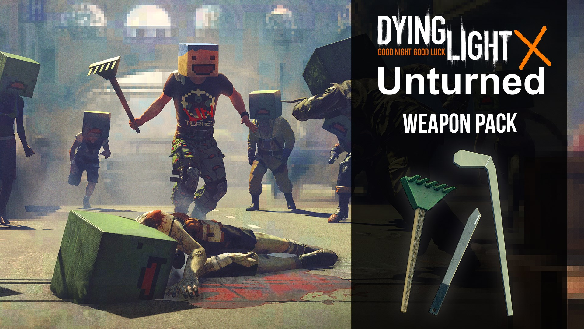 Dying Light - Unturned Weapon Pack