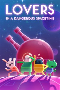 Carátula del juego Lovers in a Dangerous Spacetime