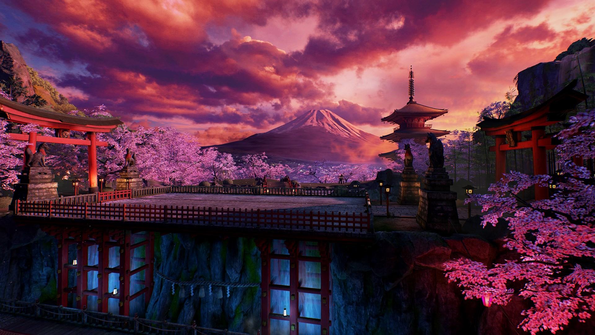 "鉄拳7 DLC17 ""VERMILION GATE"""