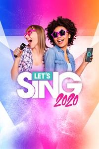 Carátula para el juego Let's Sing 2020 de Xbox 360