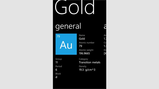 Get periodic table pro microsoft store screenshots urtaz Choice Image