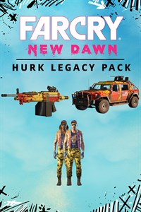 Carátula del juego Far Cry New Dawn - Hurk Legacy Pack