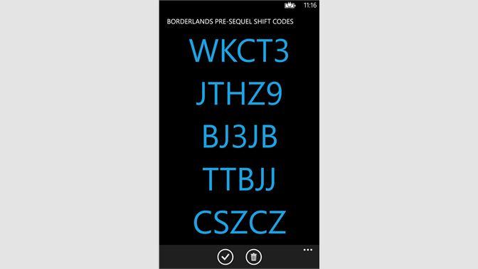 Get BLPre Shift Codes - Microsoft Store