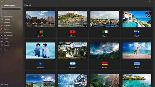 Wallpaper Studio 10 screenshot 7