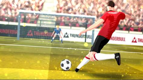 Soccer Real Cup: Flick Football World Kick League Screenshots 2