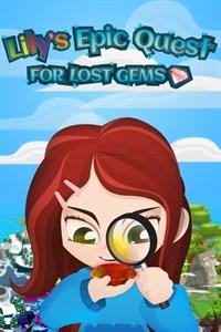 Carátula para el juego Lily's Epic Quest for Lost Gems de Xbox 360