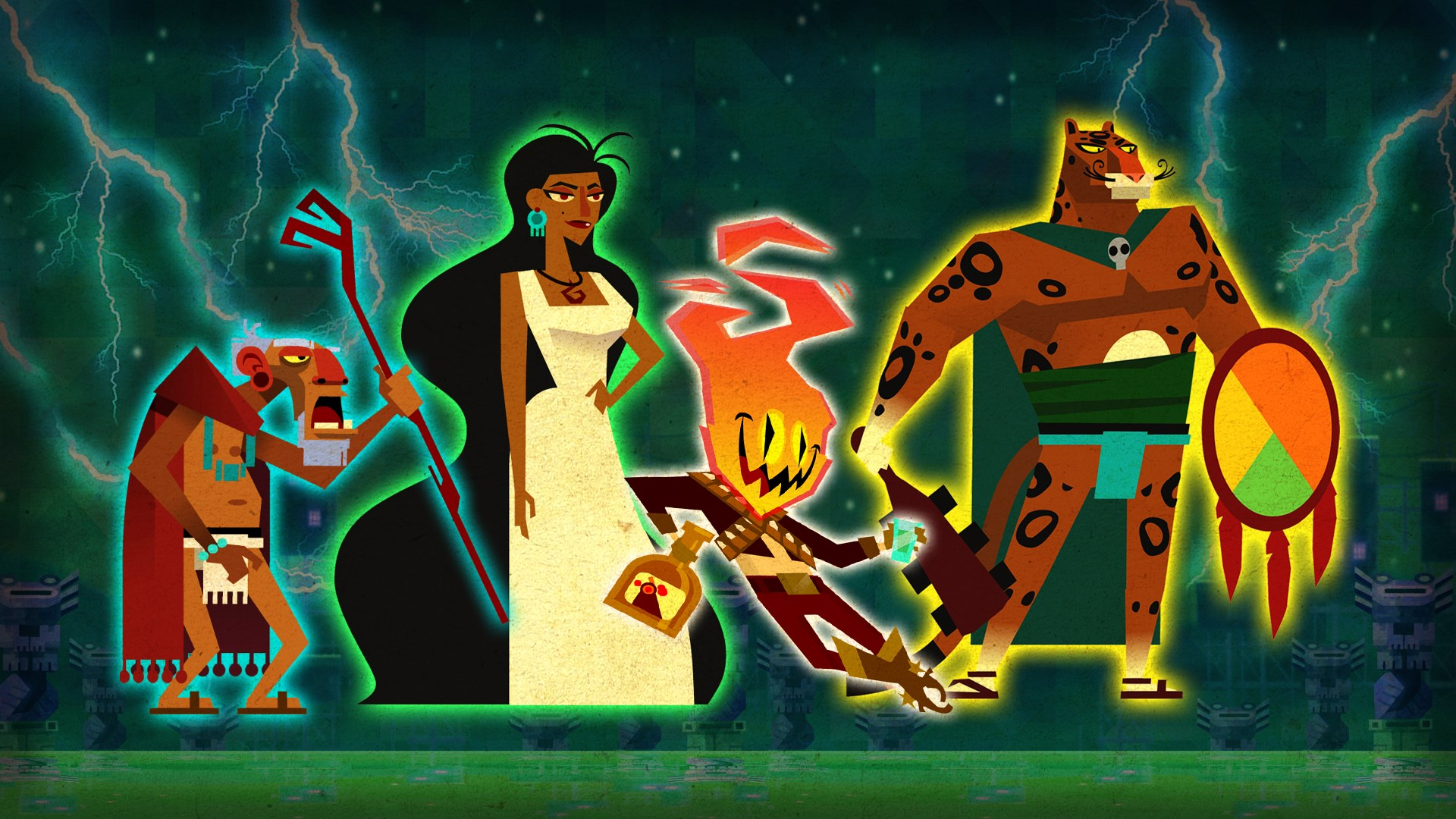 Guacamelee! STCE 'Frenemies' Character Pack