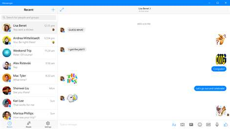 Messenger Screenshots 2