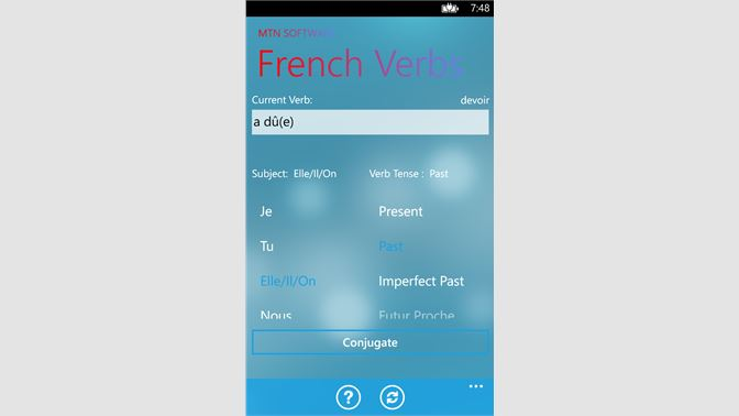 Get French Conjugator - Microsoft Store