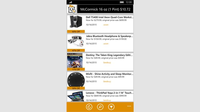 Get deal explorer microsoft store screenshot this is the main screen where you see and select deals urtaz Gallery