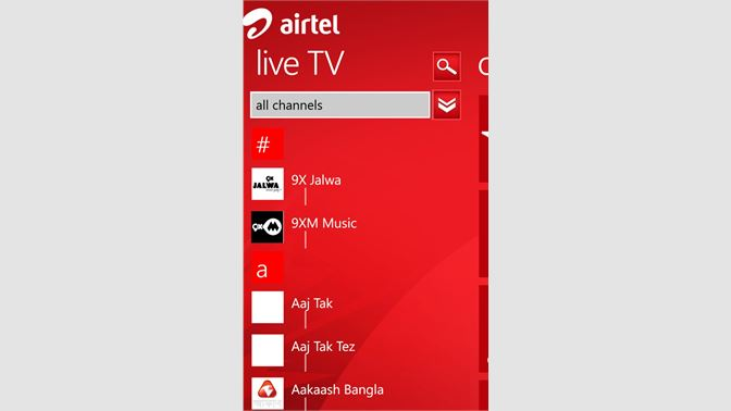 Get airtel pocket TV - Microsoft Store