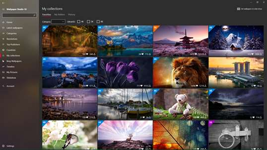 Wallpaper Studio 10 screenshot 8