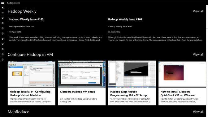 Get hadoop geek - Microsoft Store