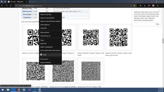 .QR Code for Microsoft Edge screenshot 5