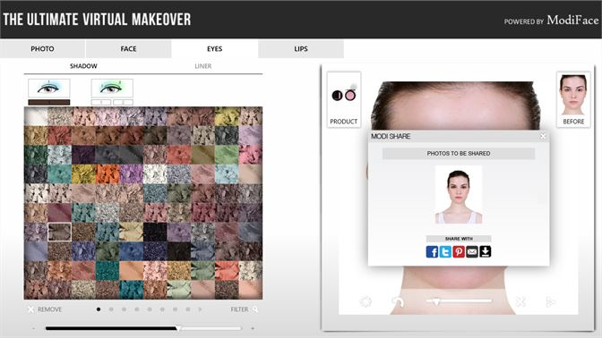 Software virtual free download makeover Perfect365 is