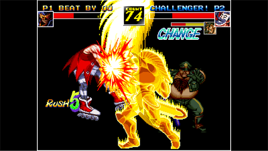 ACA NEOGEO KIZUNA ENCOUNTER screenshot 6