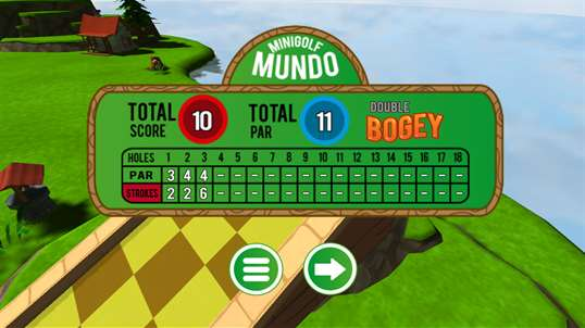 Mini Golf Mundo Free screenshot 4