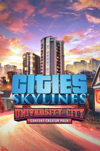 Cities: Skylines - Content Creator Pack: University City (Win 10)