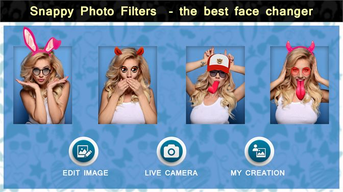 Obtenir Snappy Photo Filter The Best Face Changer