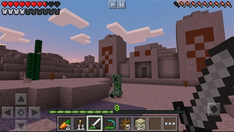 Minecraft for Windows 10 Mobile Screenshot