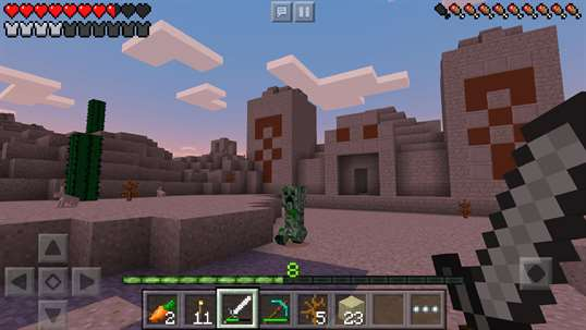 Minecraft for Windows 10 Mobile screenshot 2