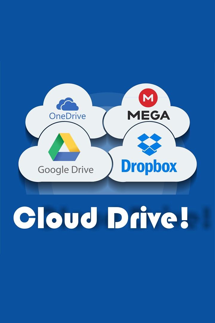 Get Cloud Drive! : OneDrive, Dropbox, Google Drive and more