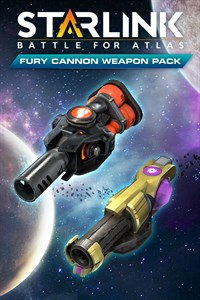 Starlink: Battle for Atlas - Fury Cannon Weapon Pack