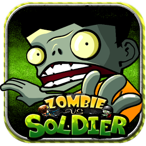 Zombies vs Soldier 2D