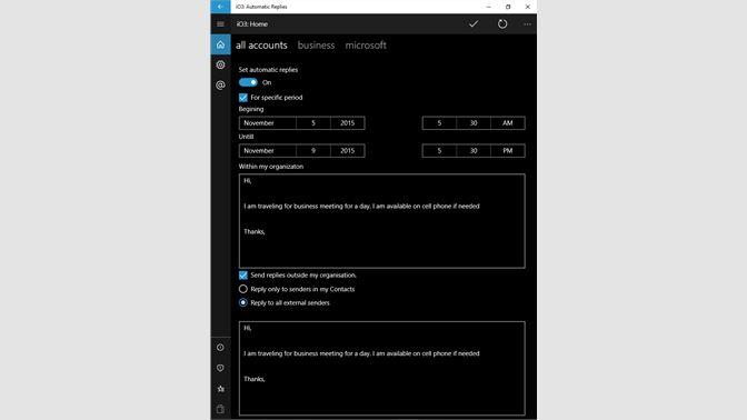 b4621be2d Get IO3: Automatic Replies - Microsoft Store