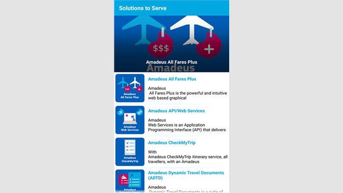Get MY AMADEUS EA - Microsoft Store