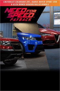 Need for Speed™ Payback: Chevrolet Colorado ZR2, Range Rover Sport SVR & Alfa Romeo Quadrifoglio Bundle