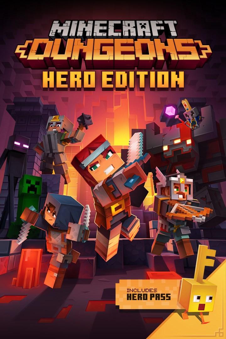 Videojuego Microsoft Xbox One Minecraft Dungeons Qyn