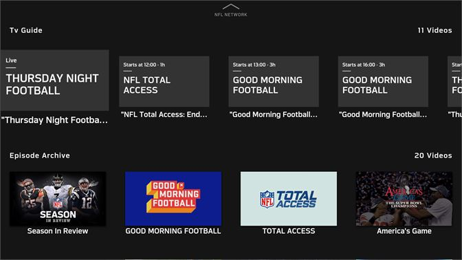 5acb4acc535 Get NFL Game Pass Europe - Microsoft Store en-GB