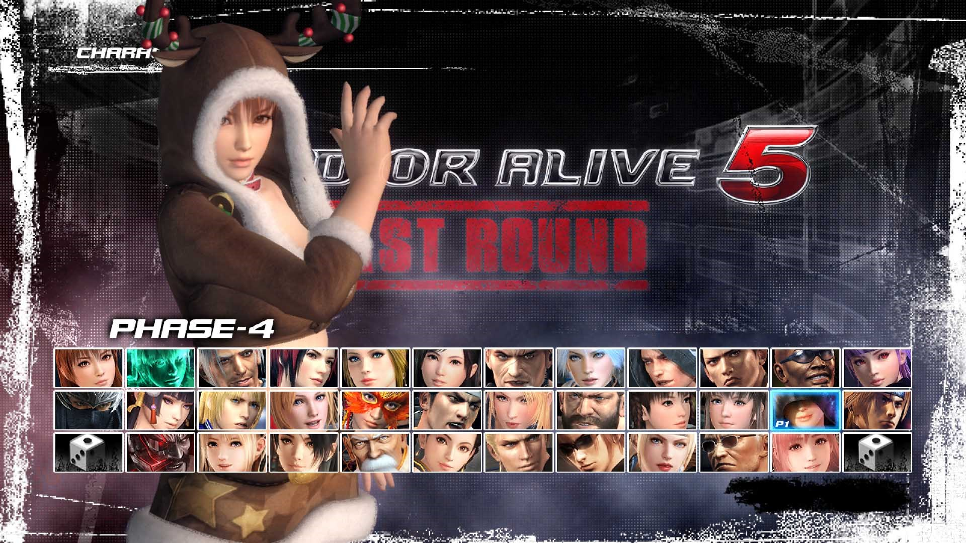 DEAD OR ALIVE 5 Last Round - Noël Phase 4