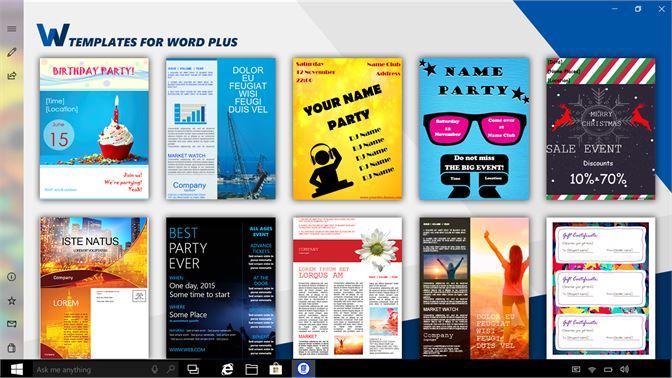 templates for word plus を購入 microsoft store ja jp