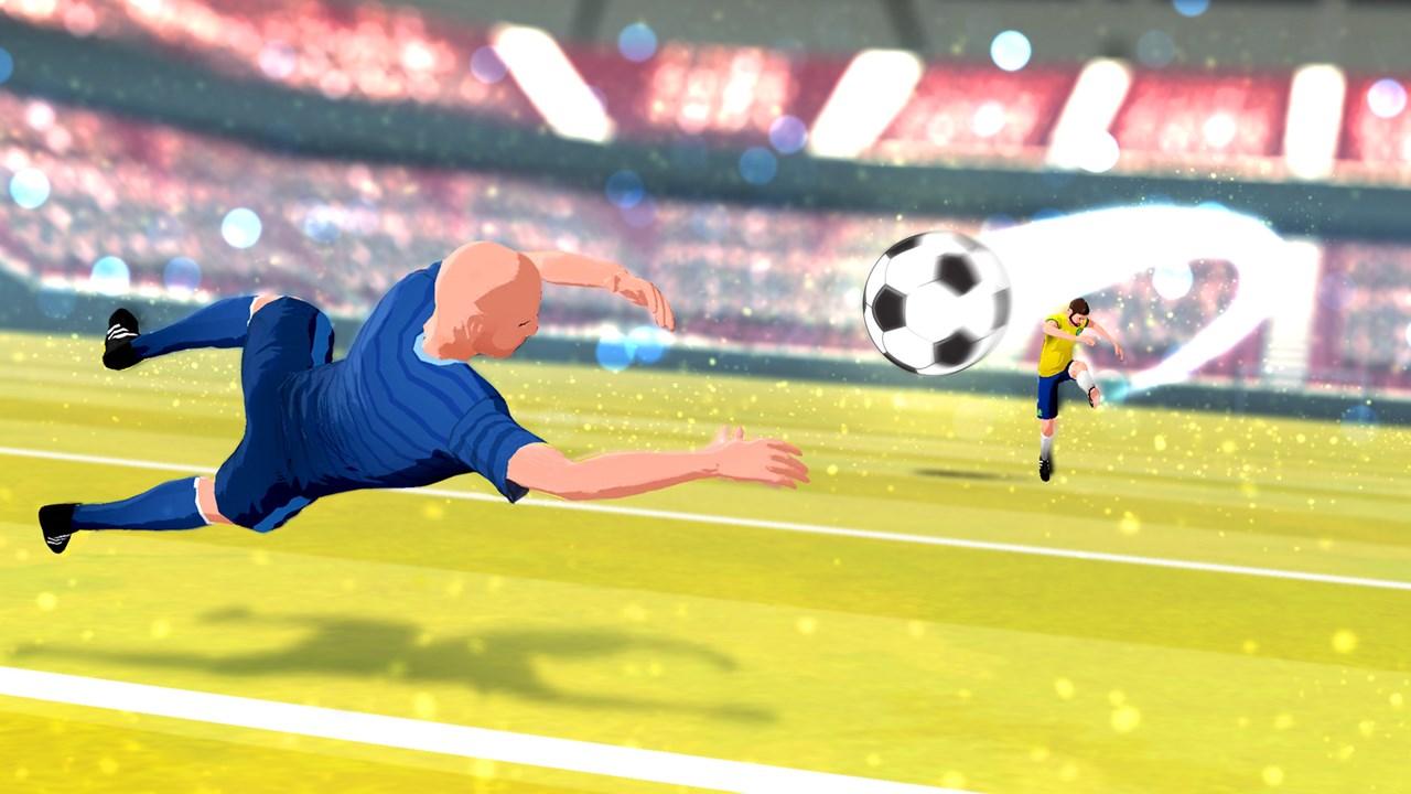 Soccer Real Cup: Flick Football World Kick League