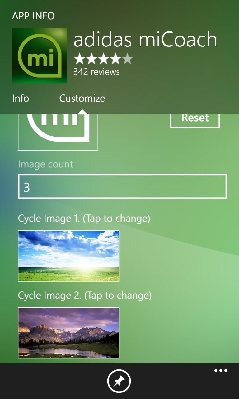 Transparent tiles maker for windows 10 mobile for Tile planner app