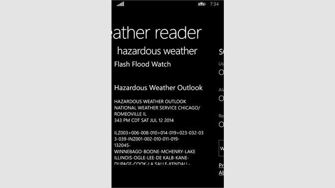 Get Weather Reader - Microsoft Store