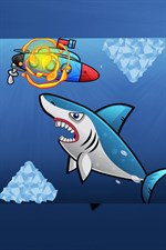 how to get hungry shark world