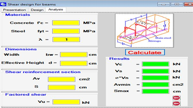 Buy Shear Design In Reinforced Concrete Beams (ACI318-14) - Microsoft Store