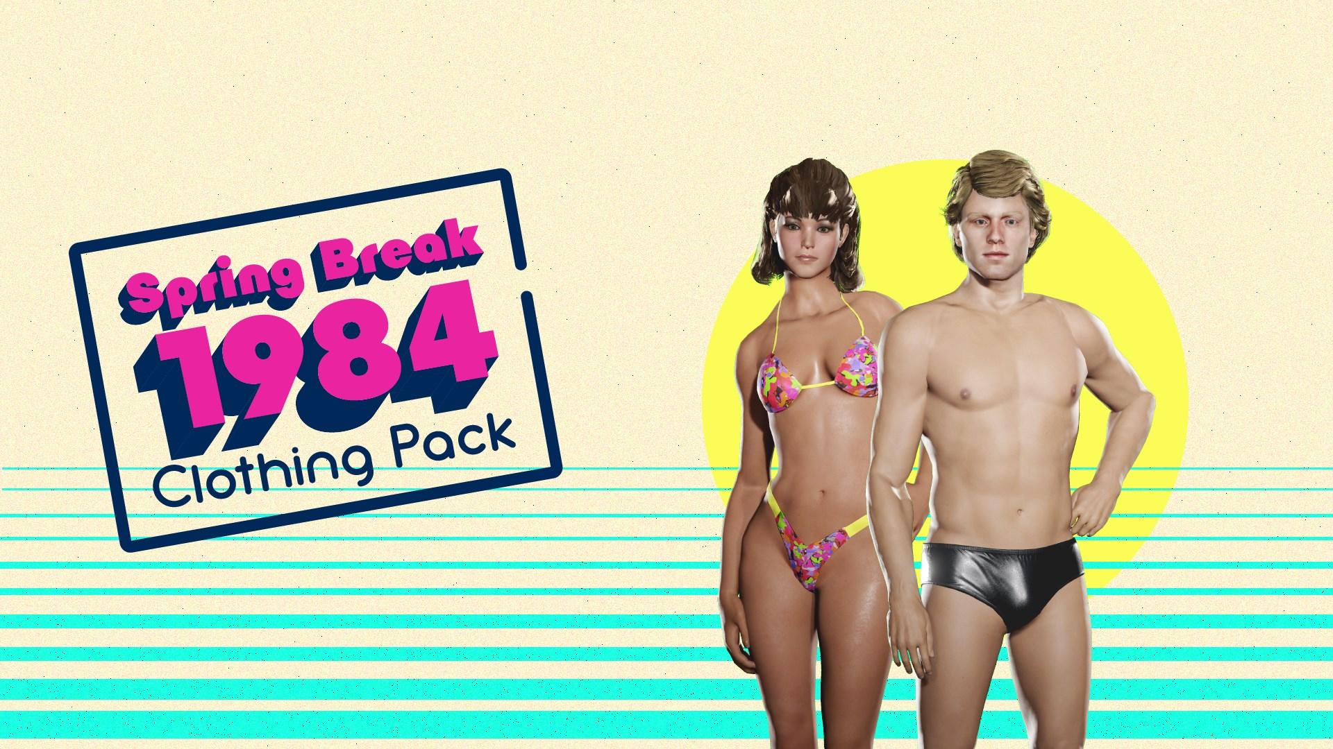 Spring Break '84 Clothing Pack