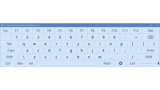 free virtual keyboard download for windows 7