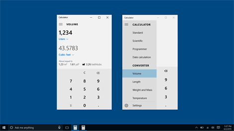 Windows Calculator Screenshot