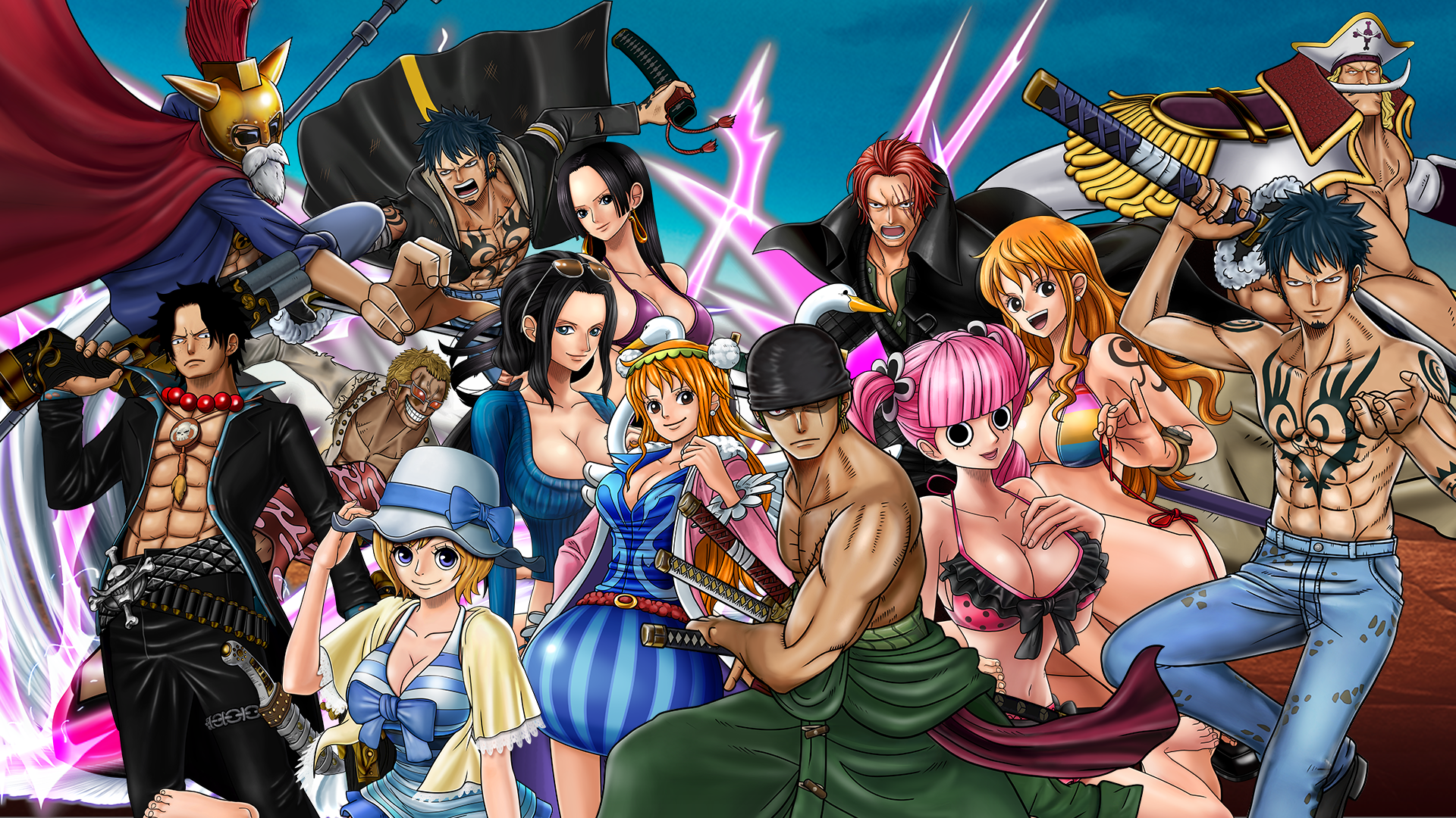 One Piece: Burning Blood Wanted Pack