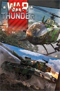 Carátula del juego War Thunder - BO 105 CB-2 and Leopard Bundle