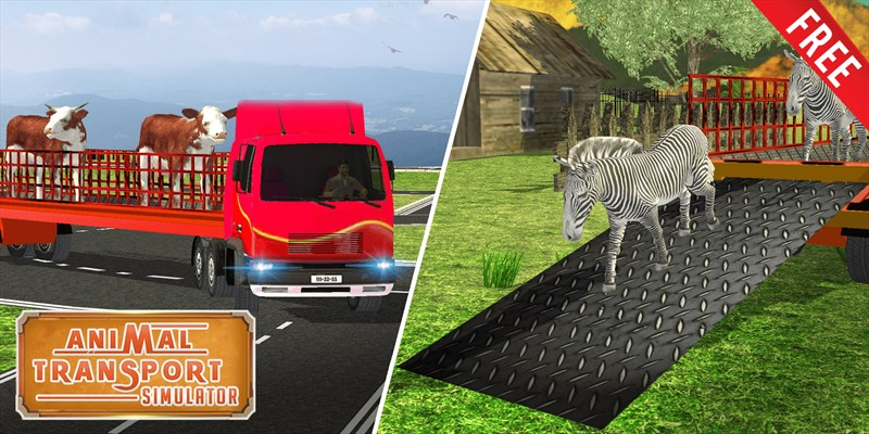 animal transport simulator 3d farm truck driving を入手