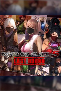 Limited Time Only! DOA5LR Ninja Clan Full Set